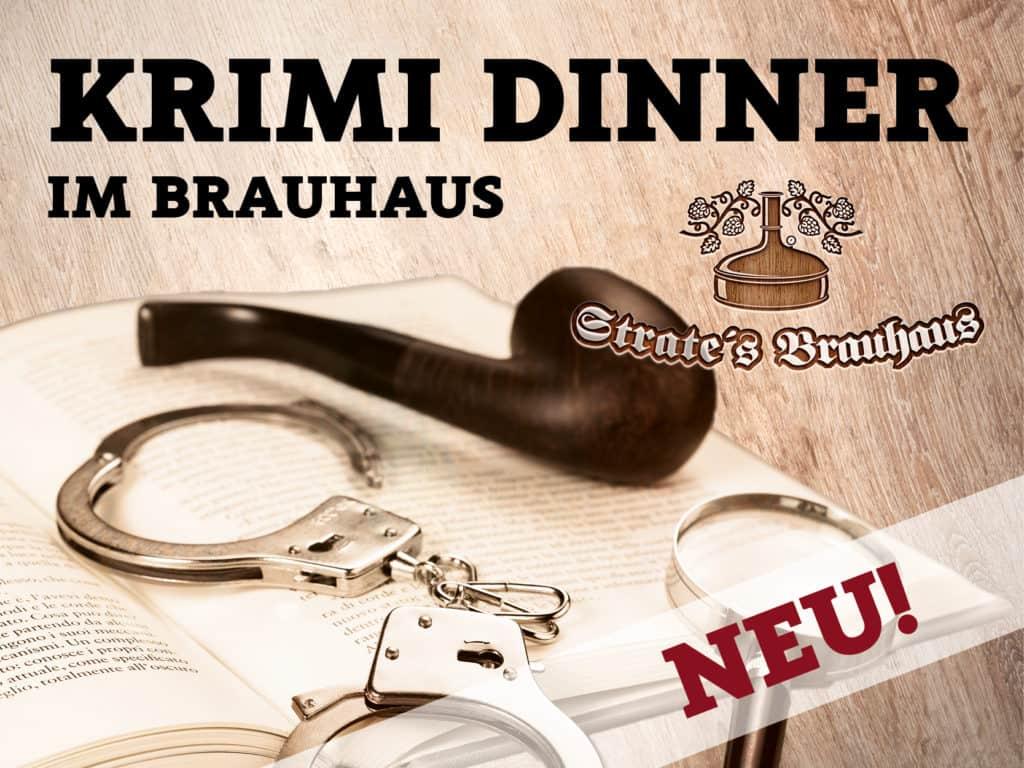 Krimi Dinner im Brauhaus