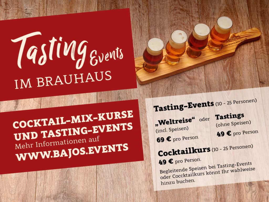 Tasting Events im Brauhaus